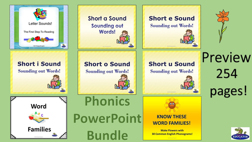 Phonics PowerPoint Bundle