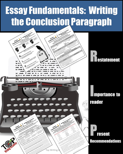 Conclusion Paragraph Writing Fundamentals