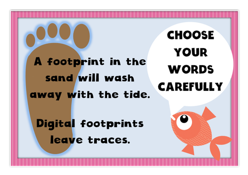 Digital competence  / citizenship / internet safety posters