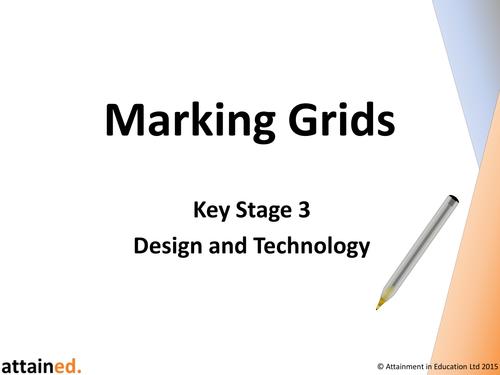 Key Stage 3 D&T Marking Grids