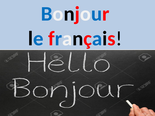 Hello French class!