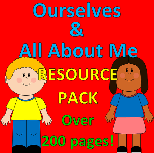 Bumper Eyfs Ourselves Pack Emotions Crafts Games Planning Ideas
