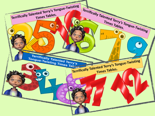 Times Table Tongue Twisters