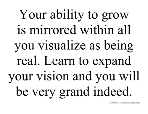 YOUR ABILITY TO GROW - POSTER