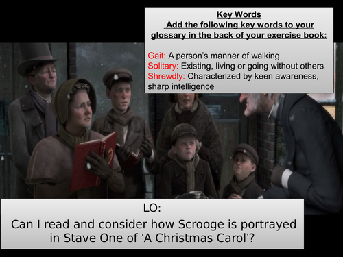 A Christmas Carol SOW