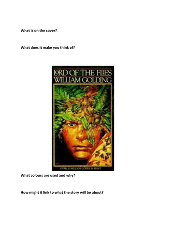 lord of the flies 16 essay