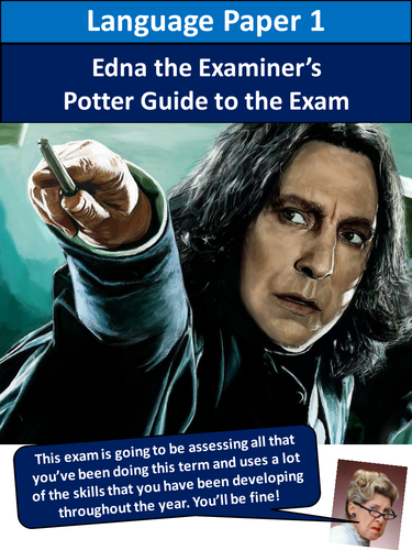 AQA English Language Paper 1 Harry Potter Revision Workbook 2