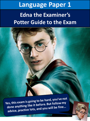 AQA English Language Paper 1 Harry Potter Revision Activity Workbook 1