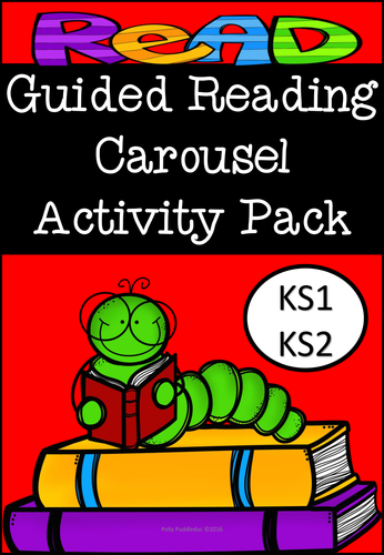 Guided Reading Carousel Activity Pack