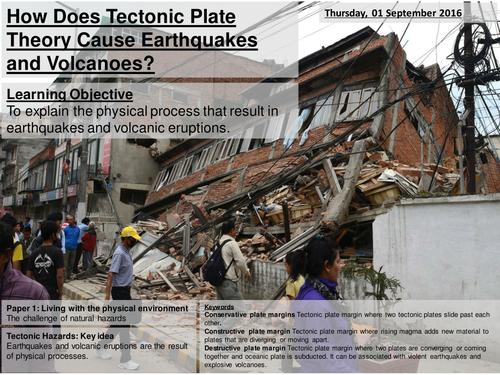 Tectonic Processes AQA2016