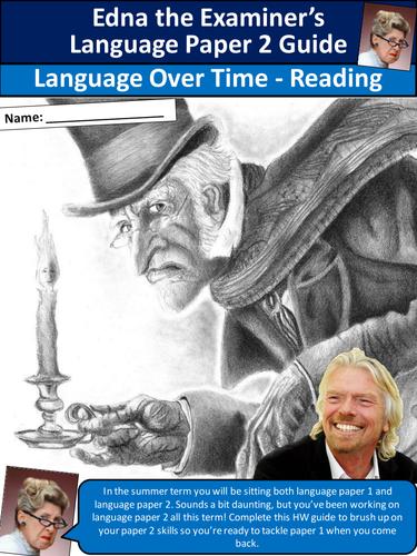 AQA English Language Paper 2 Scrooge Revision Workbook