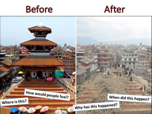 Impact of Natural Hazards - Poorer country Nepal - AQA2016