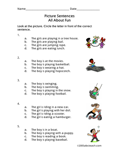 Worksheet picture sentences playground primary by abcteach worksheet picture sentences playground primary by abcteach teaching resources tes ibookread Download