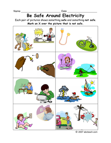 Electricity on Living Things Clip Art