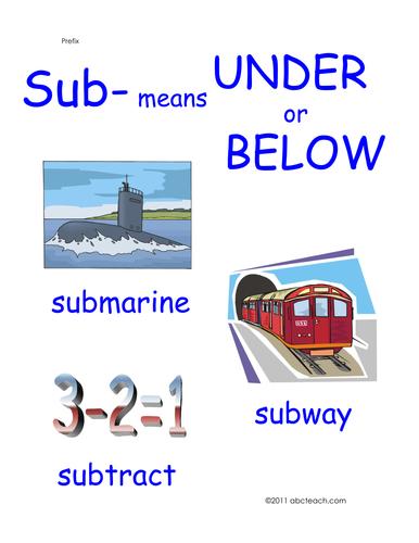 Poster: Prefix Sub (primary)