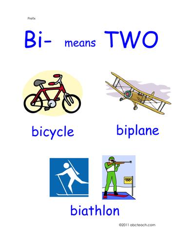 Poster: Prefix Bi (primary)