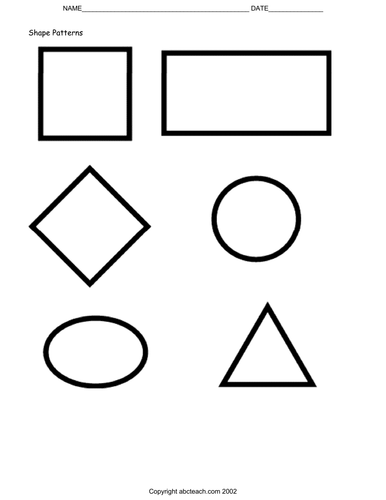 Posters: Basic Shapes