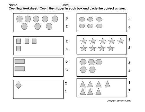 math counting activity addition pre k primary by abcteach teaching resources tes. Black Bedroom Furniture Sets. Home Design Ideas