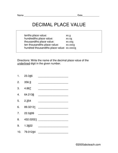 decimal numbers in standard word and expanded form differentiated task cards by widenmo6684. Black Bedroom Furniture Sets. Home Design Ideas