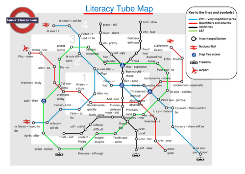 teaching resources – French Tube Map