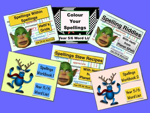 Year 5/6 Spelling Bundle