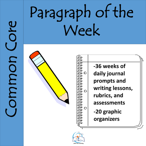 Paragraph of the Week (A YEARLONG Bundle)