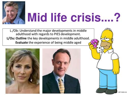 EdExcel GCSE Health & Social Care- Unit 1- Human Growth & Development- Middle Age