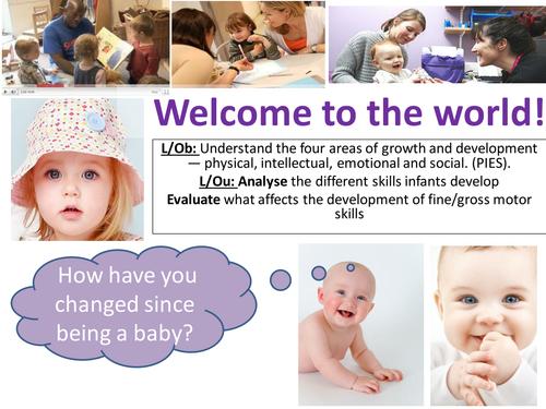 EdExcel GCSE Health & Social Care- Unit 1- Human Growth & Development- lessons bundle for PIES development