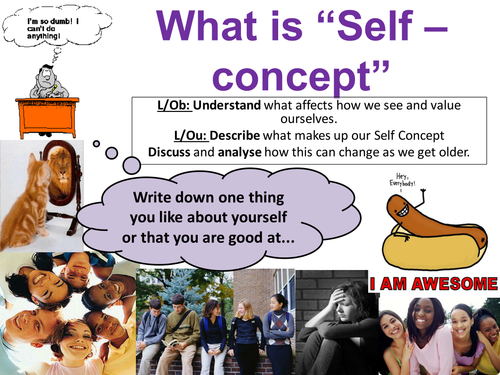 EdExcel GCSE Health & Social Care- Unit 1- Human Growth & Development- Self concept