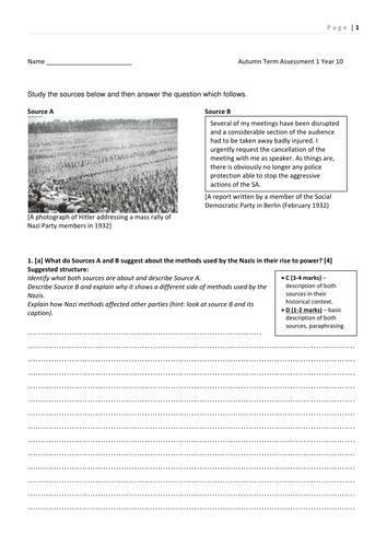 4 Assessments on Nazi Germany