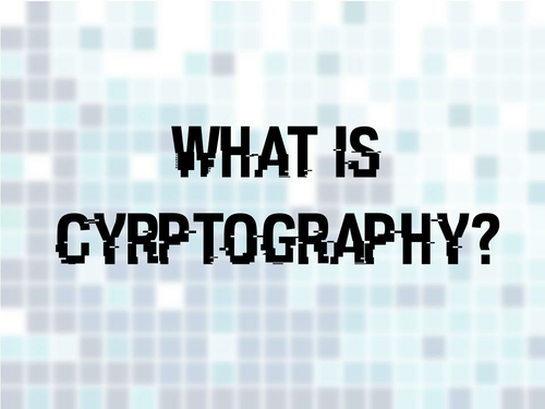 Cryptography and Code Breaking - KS2
