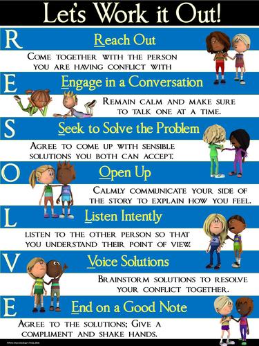 problem solving conflict resolution