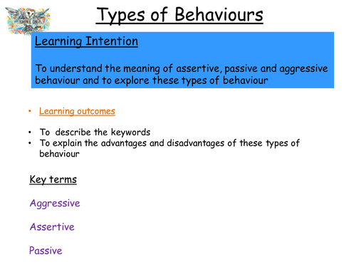 Different Types of Behaviour