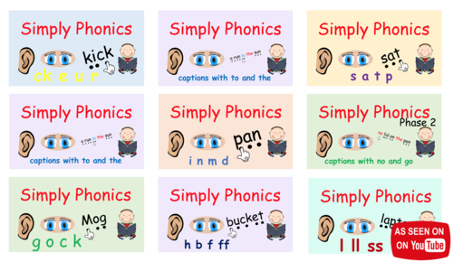 Phase 2 Phonics - The Complete Set of Presentations