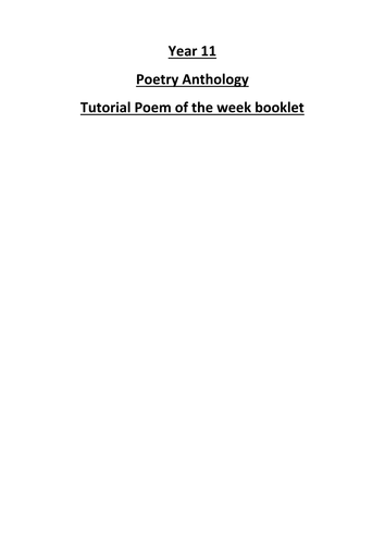 jekyll and hyde model essay and activities lesson by aqa literature power and conflict anthology poetry booklet new spec