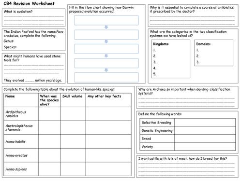 Edexcel CB4 Revision Worksheet by fosterpaul Teaching Resources – Genetic Engineering Worksheet