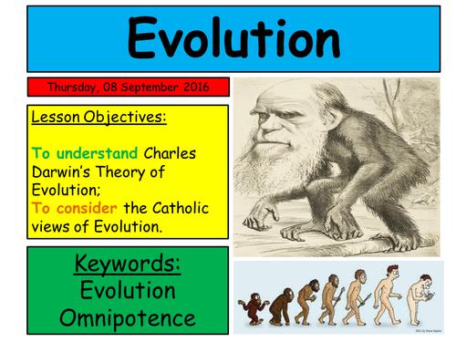 EDUQAS RE GCSE  Route B, Theme 1: CAtholic attitudes to evolution
