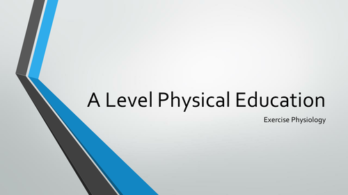 A Level Principles of Training