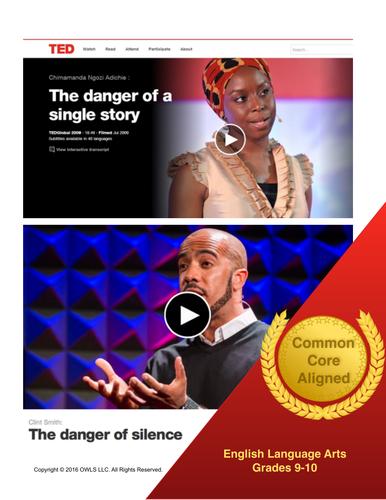 TED Talks Common Core Mini-Unit
