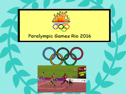 Rio Paralympic Games PowerPoint