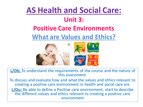 health and social care unit 268 Edexcel btec level 3 nationals specification in health and social care unit 2: equality, diversity and rights in health health and social care settings unit.