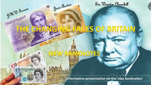 The New British Bank Notes - Presentation