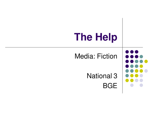 The Help: Film Study
