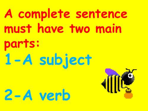A Complete Sentence