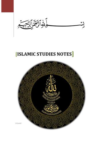 Islamic Studies Notes