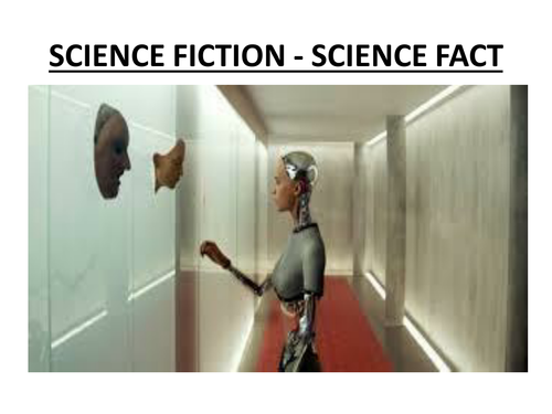 COMPLEX AND COMPOUND SENTENCES - SCIENCE FICTION WRITING - POWER POINT (25 SLIDES)