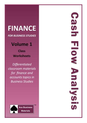 Cash Flow Analysis for GCSE Business Studies
