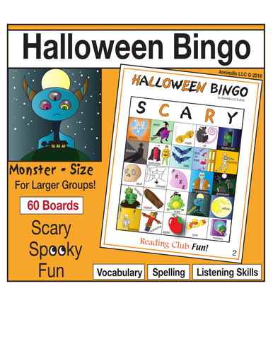 Halloween Bingo (Monster-Size)
