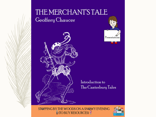 'The Merchant's Tale' - Introductory lesson