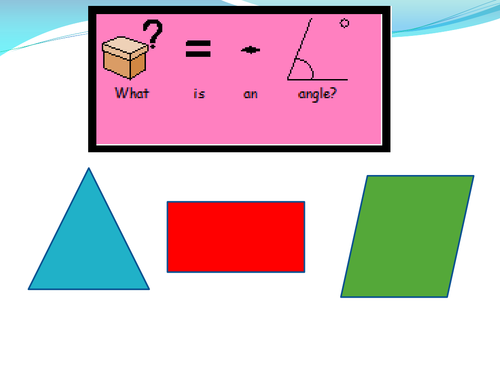 Simple Right Angles PowerPoint
